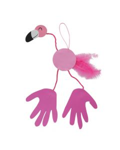 Flamingo Handprint Craft Kit