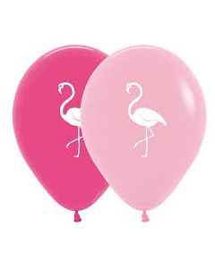 Flamingo Latex Balloons