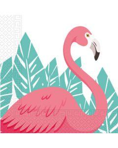 Flamingo Paper Napkins