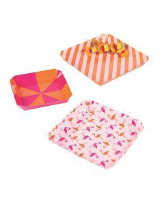 Flamingo Party Paper Platters