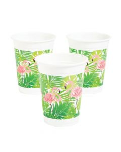 Flamingo Plastic Cups