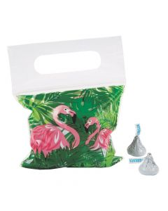 Flamingo Resealable Treat Bags