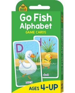Flash Cards-go Fish Alphabet