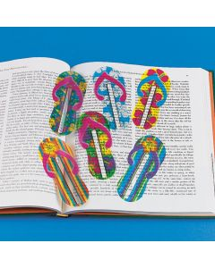 Flip Flop Ruler Bookmarks