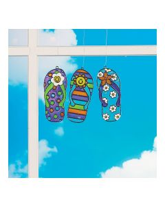 Flip Flop Suncatchers