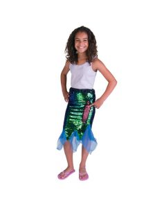 Flipping Sequins Mermaid Skirt - Large