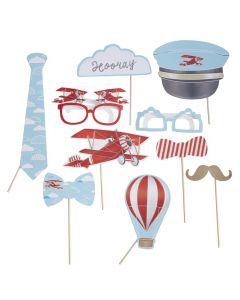 Flying High Photo Booth Props