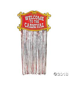 Foil Carnival Door Curtain