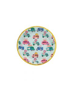 Food Truck Party Paper Dessert Plates