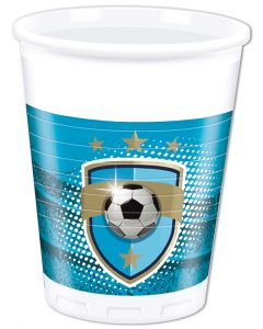 Football Fans Plastic Cup
