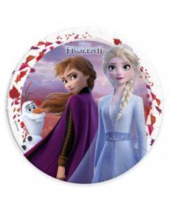 Frozen II Sparkle Paper Plates