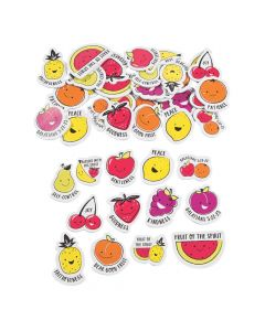 Fruit of the Spirit Self-Adhesive Shapes