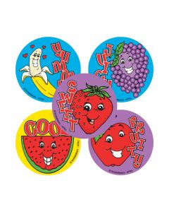 Fruit Scented Stickers
