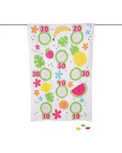 Fun Fruit Canvas Bean Bag Toss Game