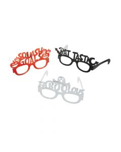 Fun Halloween Party Paper Glasses