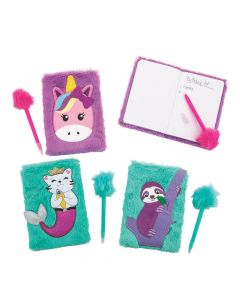 Furry Animals Notebook and Pen Sets