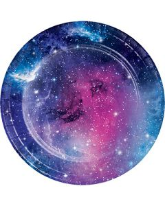 Galaxy Party Dessert Plate