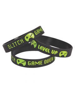 Gamer Rubber Bracelets