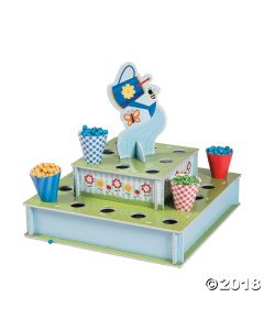 Garden Party Treat Stand with Cones