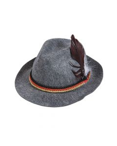 German Alpine Hat Grey