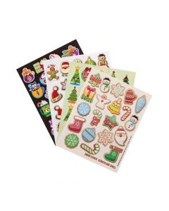 Gibby and Libby Scented Christmas Stickers