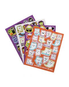 Gibby and Libby Scented Halloween Stickers