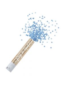 Ginger Ray Large Blue Gender Reveal Confetti Cannon
