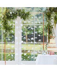 Ginger Ray White Origami Flower Wedding Backdrop