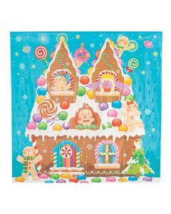 Gingerbread House Backdrop Banner