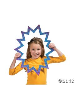 Girl Superhero Photo Booth Props