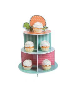 Girl Turtle Cupcake Stand