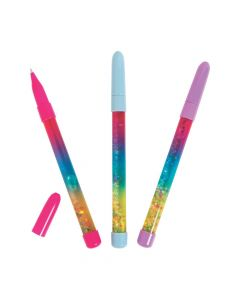 Glitter Confetti Pens