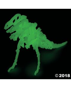 Glow-in-the-dark 3D Dinosaur Puzzles