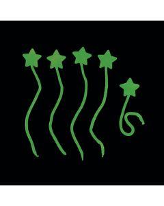 Glow-in-the-Dark Sticky Stars