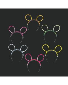 Glow Stick Cat Ear Headbands