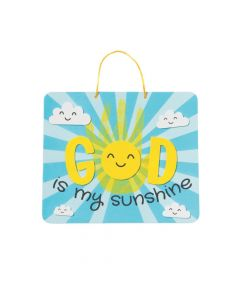 God Is My Sunshine Sign Handprint Craft Kit