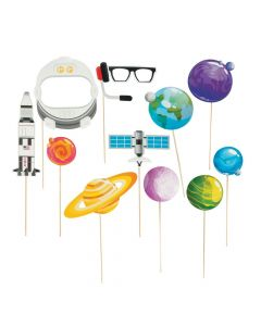 God's Galaxy VBS Planet Photo Props