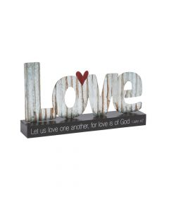 God's Love Tabletop Sign