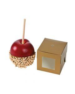Gold Caramel Apple Boxes