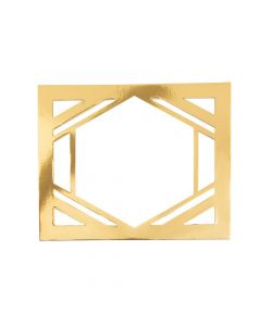 Gold Die Cut Table Sign