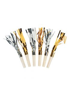 Gold and Silver Fringe Blowouts