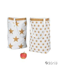Gold Star Tote Bags