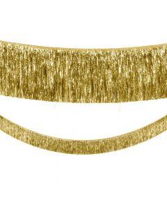 Gold Tinsel Garland