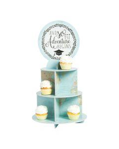 Grad Adventure Cupcake Stand
