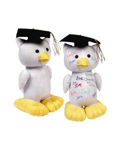 Graduation Autograph Stuffed Owl