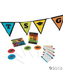 Graduation Buffet Table Decorating Kit