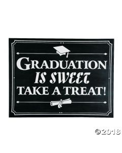 Graduation Is Sweet Sign
