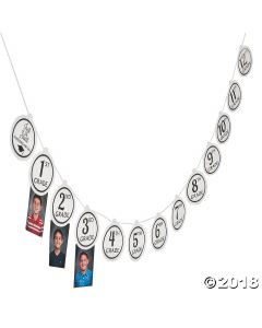 Graduation Photo Garland
