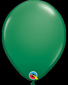 Green 27cm Round Latex Balloon