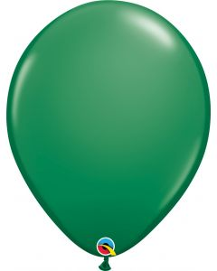 Green  40cm Round Latex Balloon